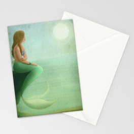 Mermaid Watch Stationery Cards