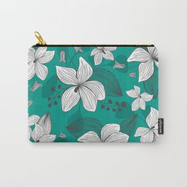 Avery Aqua Carry-All Pouch