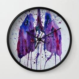 Lungs II Wall Clock