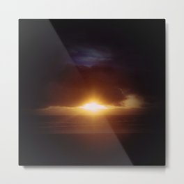 open your eyes to the ocean Metal Print