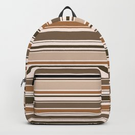The Perfect Line Collection - Brown on Brown Backpack