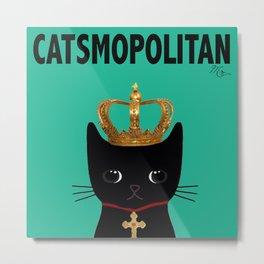 CATSMOPOLITAN Metal Print