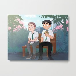 MatsuHana lunch break Metal Print