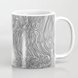 Pikes Peak Topo Map Coffee Mug