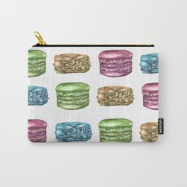 Colorful Macaroon Variety Carry-All Pouch