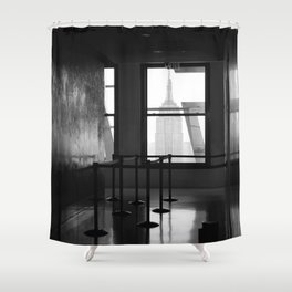 lost empire Shower Curtain