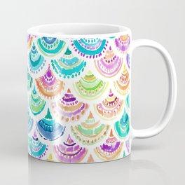 RAINBOW MERMACITA Colorful Mermaid Scales Coffee Mug