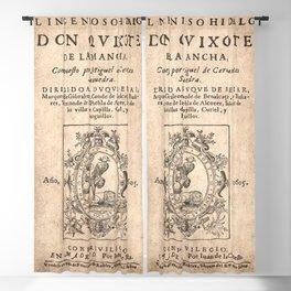 Cervantes. Don Quijote, 1605. Blackout Curtain