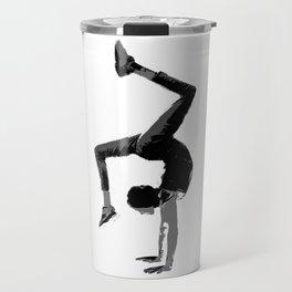 Handstand 2 (Large) Travel Mug