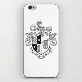 Weekend Warriors Heraldry iPhone Skin