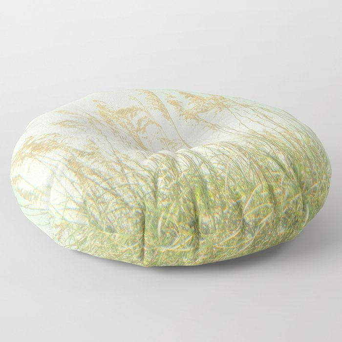 Sea Oats Floor Pillow
