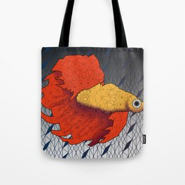 Beta Fish - Panel A Tote Bag