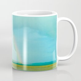 Rainbow over Paradise Island Coffee Mug