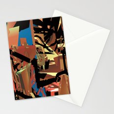 Nietzsche Walks Out At Bayreuth (The Theater of Noisea)  Stationery Cards