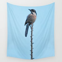 Bird - Scrub Jay Wall Tapestry