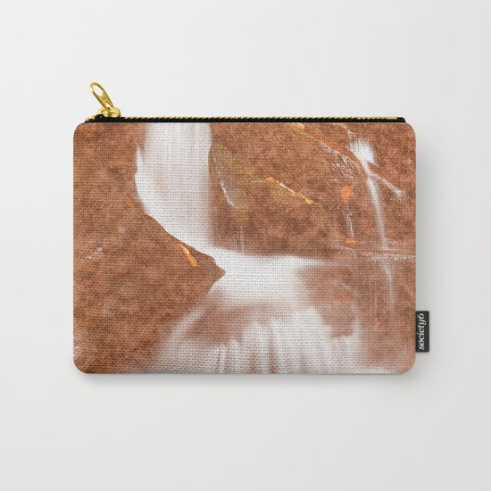 Vintage Velvet Waterfall Carry-All Pouch