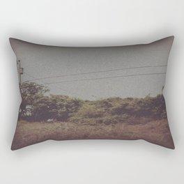 Empty Silences Rectangular Pillow