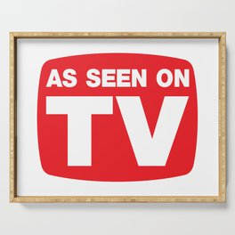 As Seen On TV Serving Tray