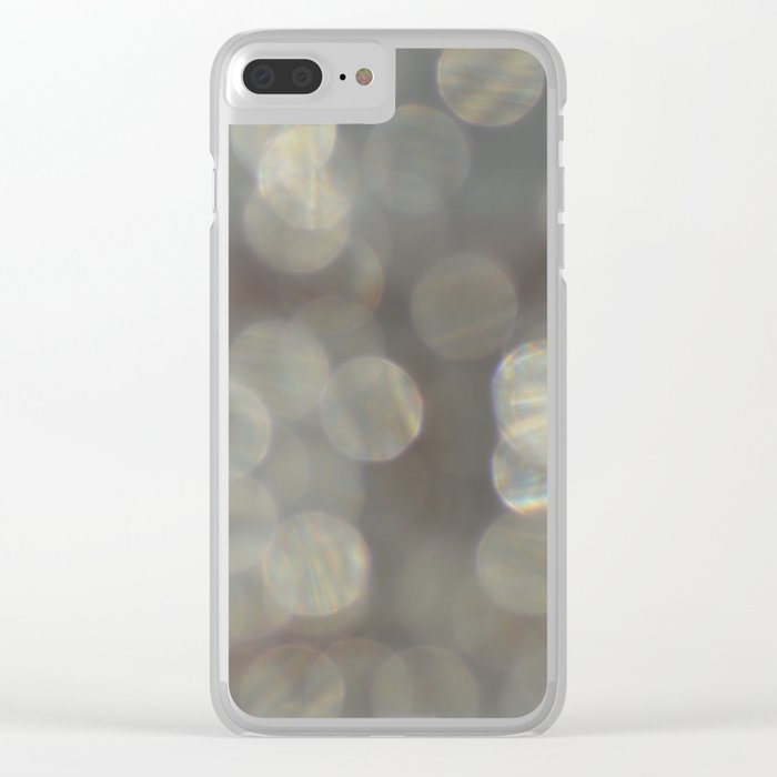 #34 Clear iPhone Case