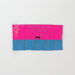 Jog Hand & Bath Towel
