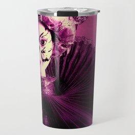 Purple Party Travel Mug