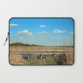 Salt Marsh View Laptop Sleeve