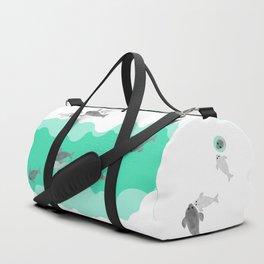 Ringed seal - Winter Arctic Duffle Bag