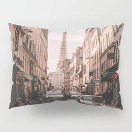 Vintage Paris, France (Color) Pillow Sham