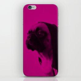 Pink Pug iPhone Skin
