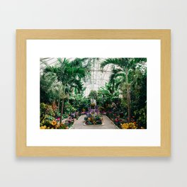 The Main Greenhouse Framed Art Print