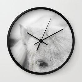 Icelandic Eye Wall Clock
