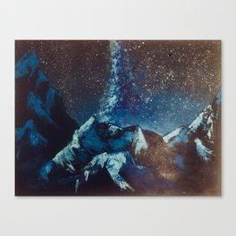 Journey Unending Canvas Print