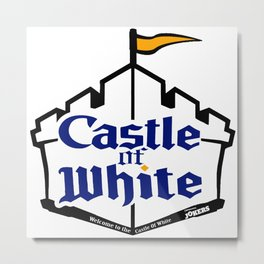 Castle Of White Metal Print