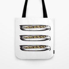 Golden Peas Tote Bag