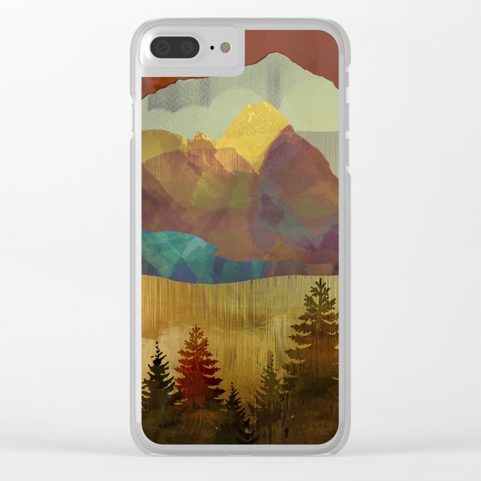 Autumn Sky Clear iPhone Case
