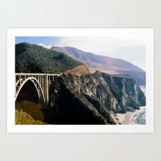 Big Sur - Bixby Bridge Art Print