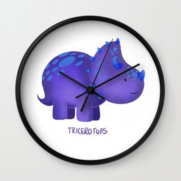 Tricerotops Wall Clock