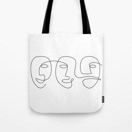 Line Carnival Tote Bag