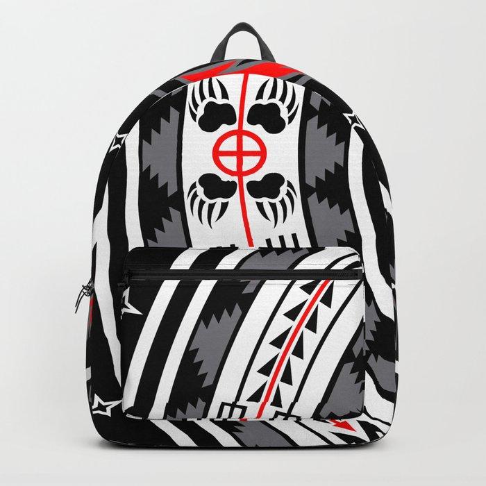 Bear Spirit (Black) Backpack