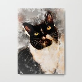 Cat Jagoda art Metal Print