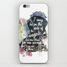 Sherlock Side of the Angels iPhone Skin