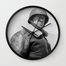 General George S. Patton Wall Clock
