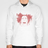 patrick Hoodies featuring Patrick Bateman by Itxaso Beistegui Illustrations