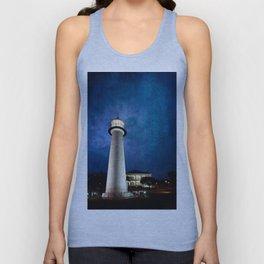 Lighthouse Blues Unisex Tank Top