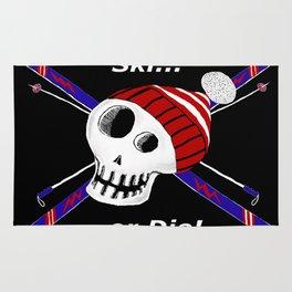 Ski or Die! Rug