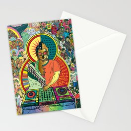 Life of Buddha - 7. Enlightenment and teaching  Stationery Cards