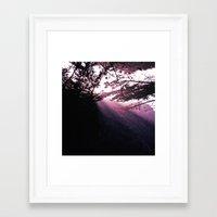 big sur Framed Art Prints featuring Big Sur by Kelley Bennett