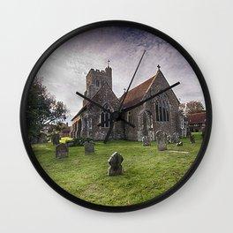 All Saints Wittersham Wall Clock