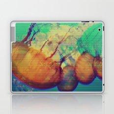 aquatic waveform Laptop & iPad Skin