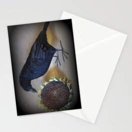 Corvid the Crow Stationery Cards
